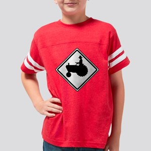 tractor [Converted] t Youth Football Shirt